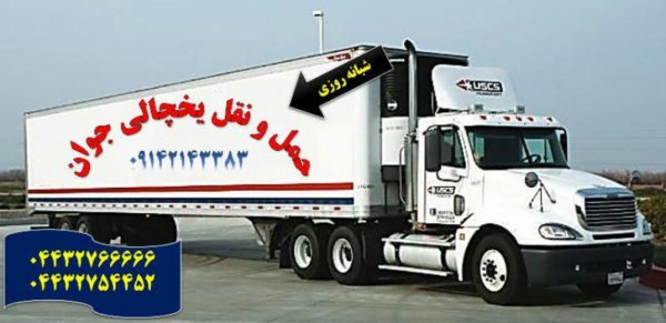 حمل بار یخچالی و فاسد شدنی به قطر