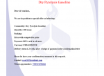 Dry Pyrolysis Gasoline